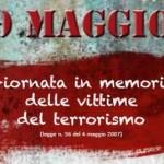 9 maggio giornata vittime del terrorismo