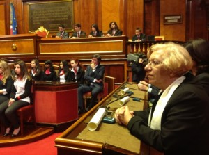 MARIELLA AL senato 8 maggio 2013