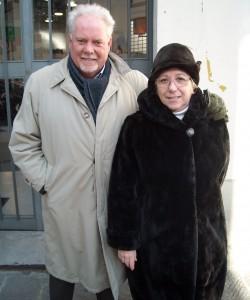 Mariella Magi Dionisi con Ispettore Picchi
