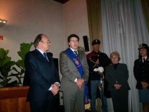 Mariella Magi Dionisi con Presidente Renzi
