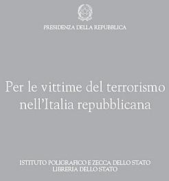 copertina vittime terrorismo presidenza repubblica
