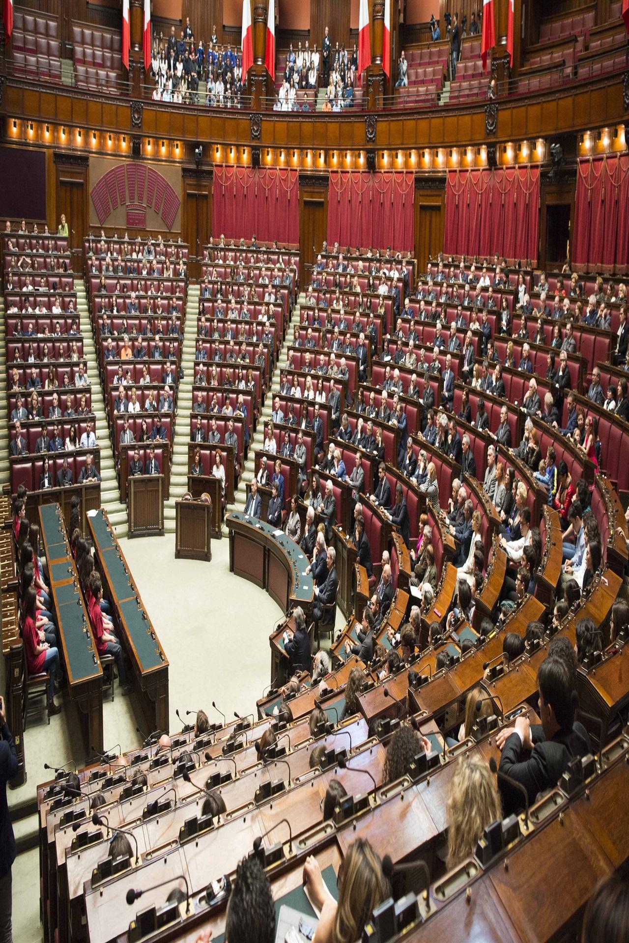 Cerimonia Nazionale A Montecitorio Per La Giornata