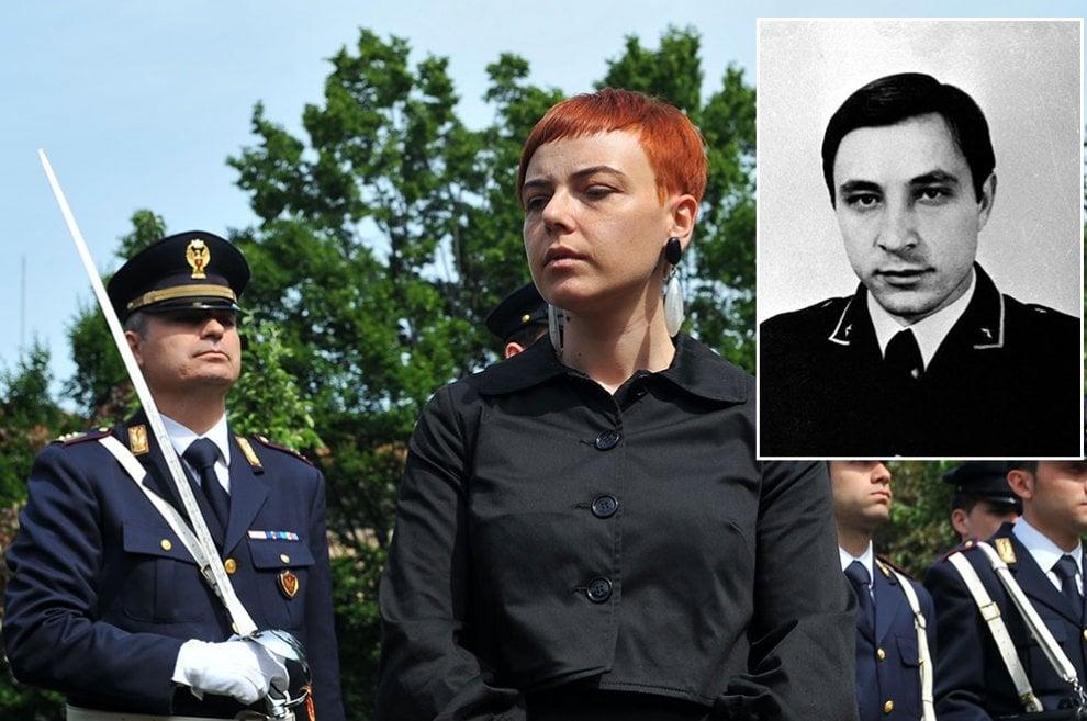 Antonia Custra e padre Antonio Custra